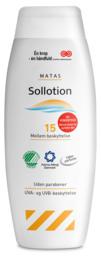 Matas Striber Sollotion SPF 15 200 ml