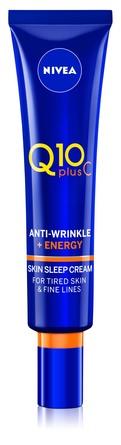 Nivea Q10 Plus C Anti-Wrinkle Sleep Cream 40 ml