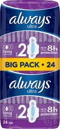 Always Ultra Long 2 BP 24 stk