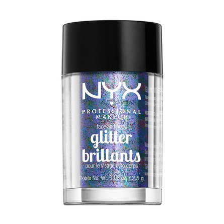 NYX PROFESSIONAL MAKEUP Face & Body Glitter Violet