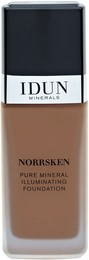 IDUN Ingeborg liquid mineral foundation norrsken