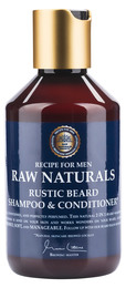 Raw Naturals Raw Rustic Beard Shampoo & Conditioner 250 ml.