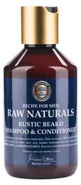 Raw Rustic Beard Shampoo & Conditioner 250 ml.