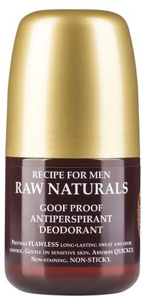 Raw Naturals Raw Goof Proof Antiperspirant Deodorant 60 ml.