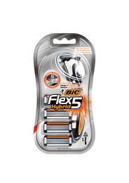 BiC Flex 5 Hybrid Skraber + 4 Blade
