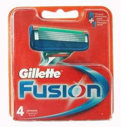 Gillette Fusion 4's barberblade