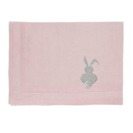 Vanilla Striktæppe Bunny Rose 70x100 cm