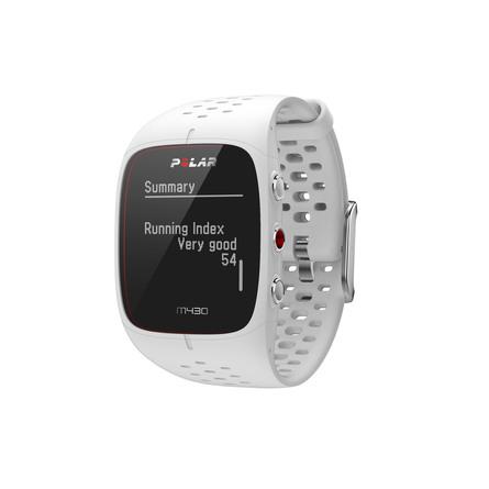 Polar M430 Multi Løbe GPS ur m/pulsmåling WHI S