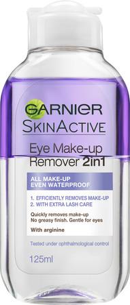 Garnier Skin Active 2in1 øjenmakeupfjerner 125 ml
