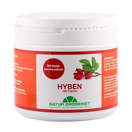 Natur Drogeriet Hyben 485 mg 360 kapsler