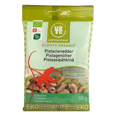 Pistacienødder uden skal Ø 50 g