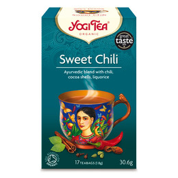 Yogi Tea sweet chili øko 15 breve