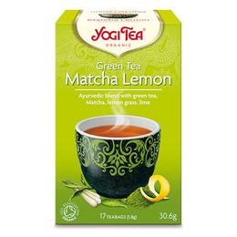 YogiTea Green Tea Matcha Øko 17 br