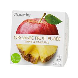 Frugtpuré æble, mango Ø 200 g