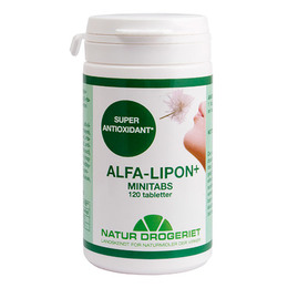 Natur Drogeriet Alfa-Lipon+ minitabs. 120 tabl.