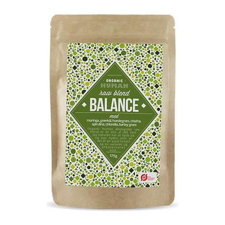 HUMAN Huamn Raw Blend Balance Øko 175 gr.
