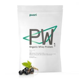 Valleprotein med solbærsmag - Puori 900 g