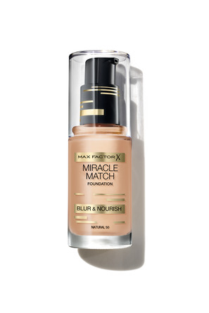 Max Factor Miracle Match Foundation Natural 050