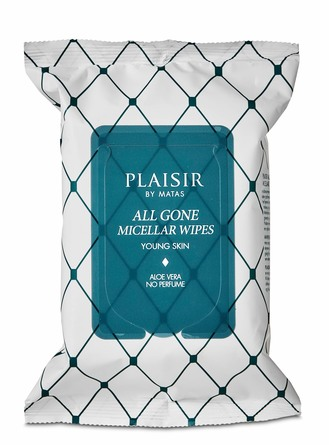 Plaisir All Gone Micellar Wipes 25 stk.