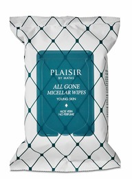 Plaisir All Gone Micellar Wipes 25 stk.