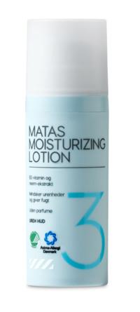 Matas Striber Moisturizing Lotion til Uren Hud Uden Parfume 50 ml