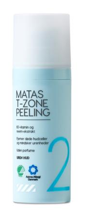 Matas Striber T-Zone Peeling til Uren Hud Uden Parfume 50 ml