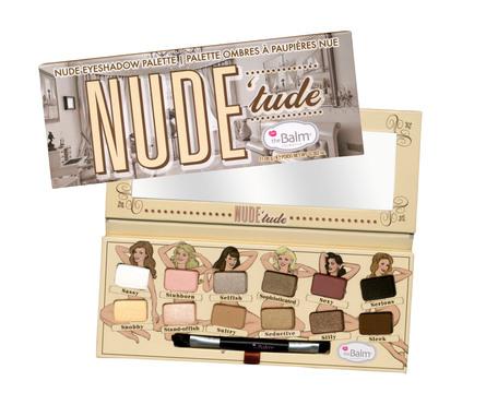 The Balm Eyeshadow Palette Nude Tude