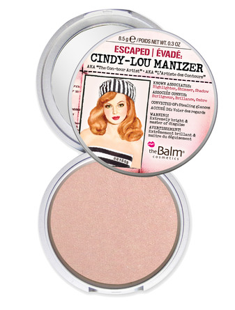 The Balm Highlighter, shimmer & shadow Cindy-Lou Manizer
