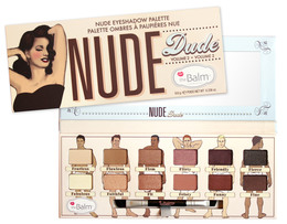 The Balm Eyeshadow Palette Nude Dude