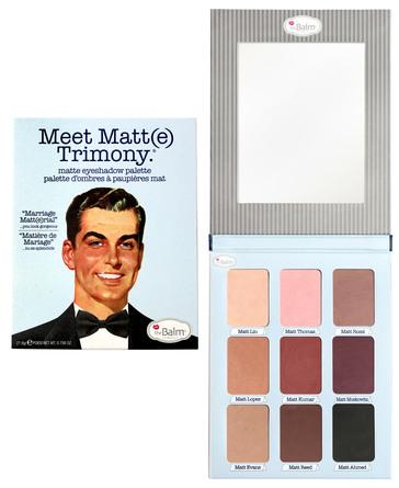 The Balm Eyeshadow Palette Meet Matte Trimony