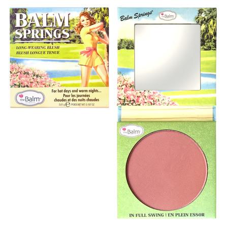 The Balm Bronzer & blush Balm Springs