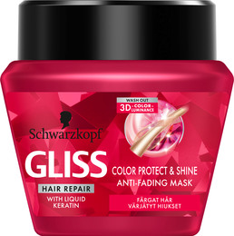 Schwarzkopf Gliss Color Protect & Shine Treatment Mask 300 ml