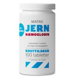 Matas Striber Matas Jern Hæmoglobin 100 tabl.