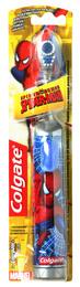 Colgate Spiderman Batteribørste m/Fast Børste