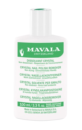 Mavala Crystal Neglelakfjerner uden Acetone
