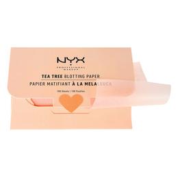 NYX PROFESSIONAL MAKEUP Tea Tree Blotting Paper 100 stk.