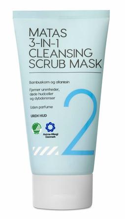 Matas Striber 3-in-1 Cleansing Scrub Mask 150 ml