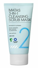 Matas Striber 3-in-1 Cleansing Scrub Mask 150 ml