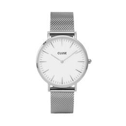Cluse La Bohème Mesh Dameur CL18105 Silver/White