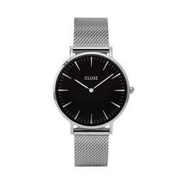 Cluse La Bohème Mesh Dameur CL18106 Silver/Black