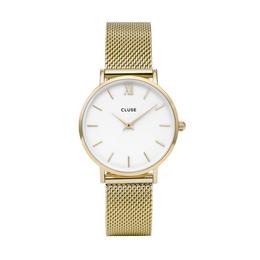 Cluse Minuit dameur CL30010 Gold/White