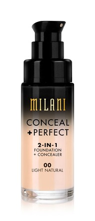 Milani Conceal + Perfect 2 in 1 Foundation 00 Light Natural
