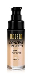 Milani Conceal & Perfect Foundation Natural
