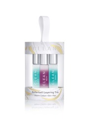 CLEAN 3 Piece Rollerball Trio Set 3x5 ml