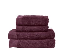 Zone Håndklædepakke Blomme 4 stk