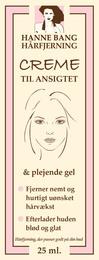 Hanne Bang Hårfjerning til ansigt 25 ml 25 ml