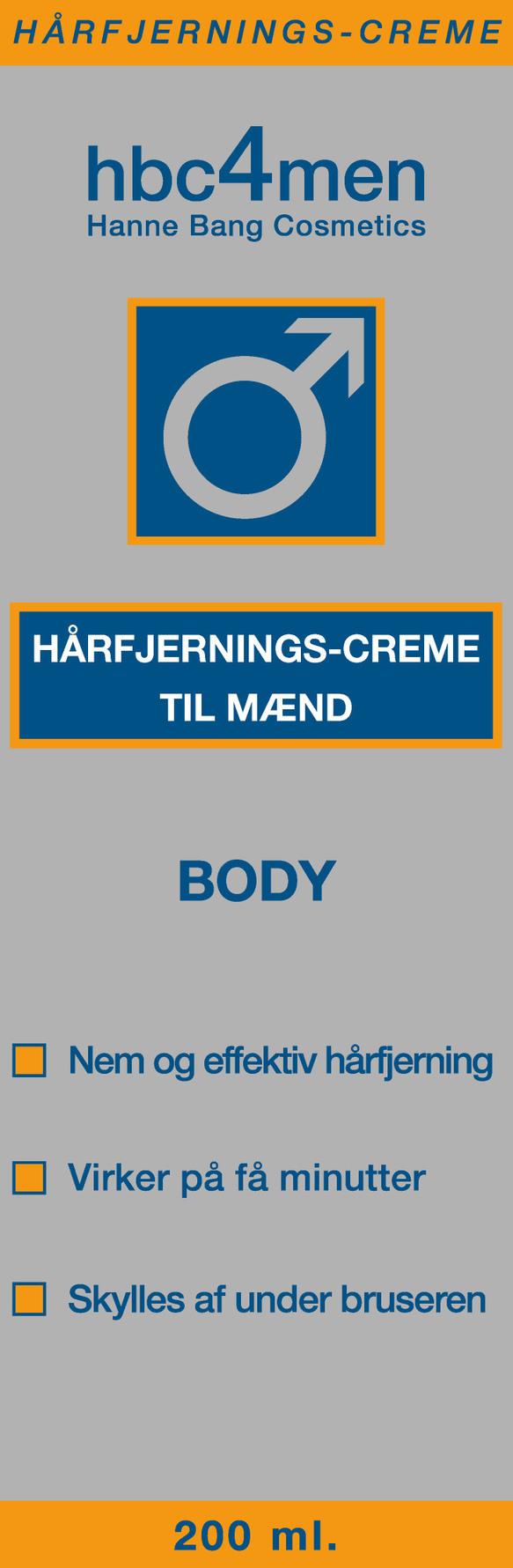 hårfjerningscreme til mænd