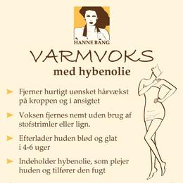 Hanne Bang Varmvoks med hybenolie 100 g