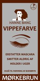 Hanne Bang Vippefarve. Mørkebrun