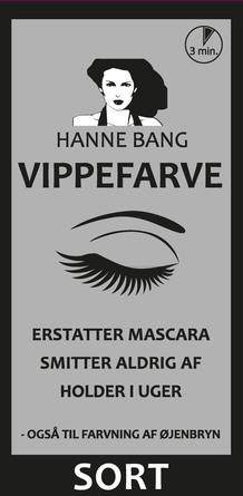 Hanne Bang Vippefarve Sort